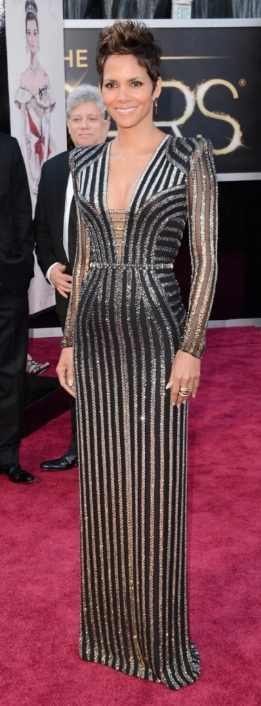 Halle Berry in Versace